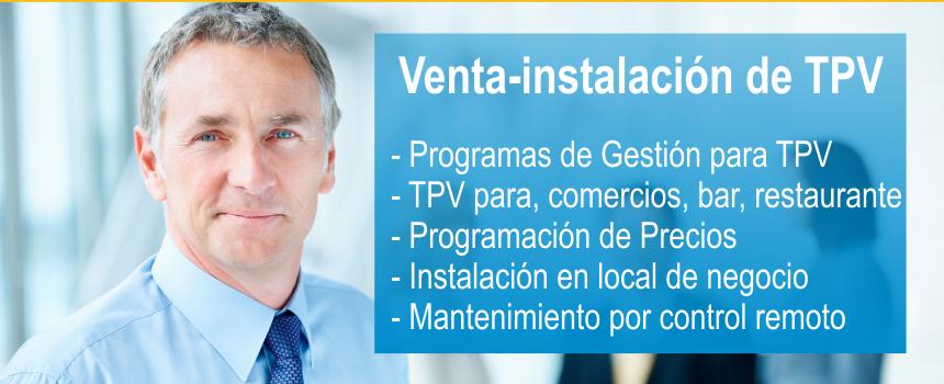 instalacion venta y reparacion de tpv, mantenimiento por control remoto